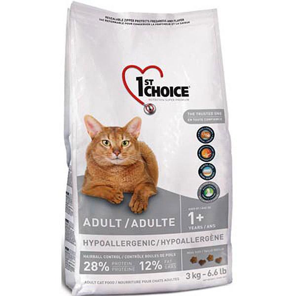 Корм 1st Choice Утка с картофелем 5.44kg для кошек гипоаллергенный без зерна 102.1.252