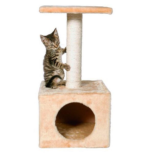 Как сделать дом для кошки с когтеточкой своими руками