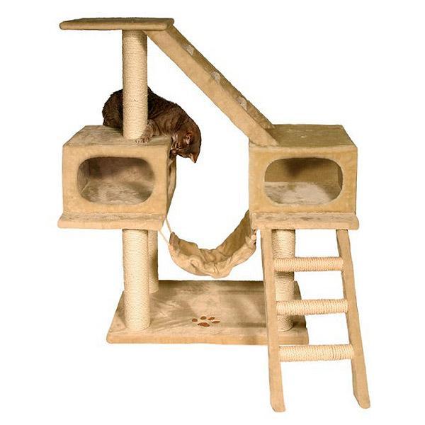 Примеры домиков для кошки сделанные своими руками
